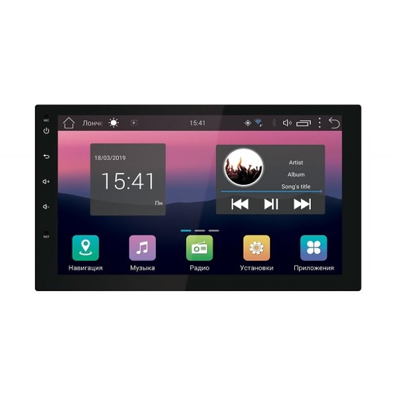 Автомагнитола SWAT AHR-4580, Мультимедиа, 2DIN, 4X40Вт, USB/SD, AUX-вход, Сенсорный экран, Bluetooth, Навигация, Android 7.0
