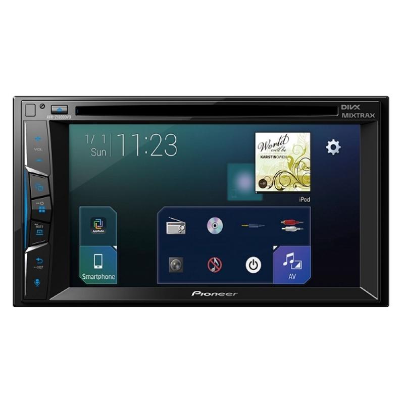 Автомагнитола PIONEER AVH-Z1000DVD, Мультимедиа, 2DIN, CD/DVD-проигрыватель, 4X50Вт, USB, AUX-вход, Apple CarPlay, Waze