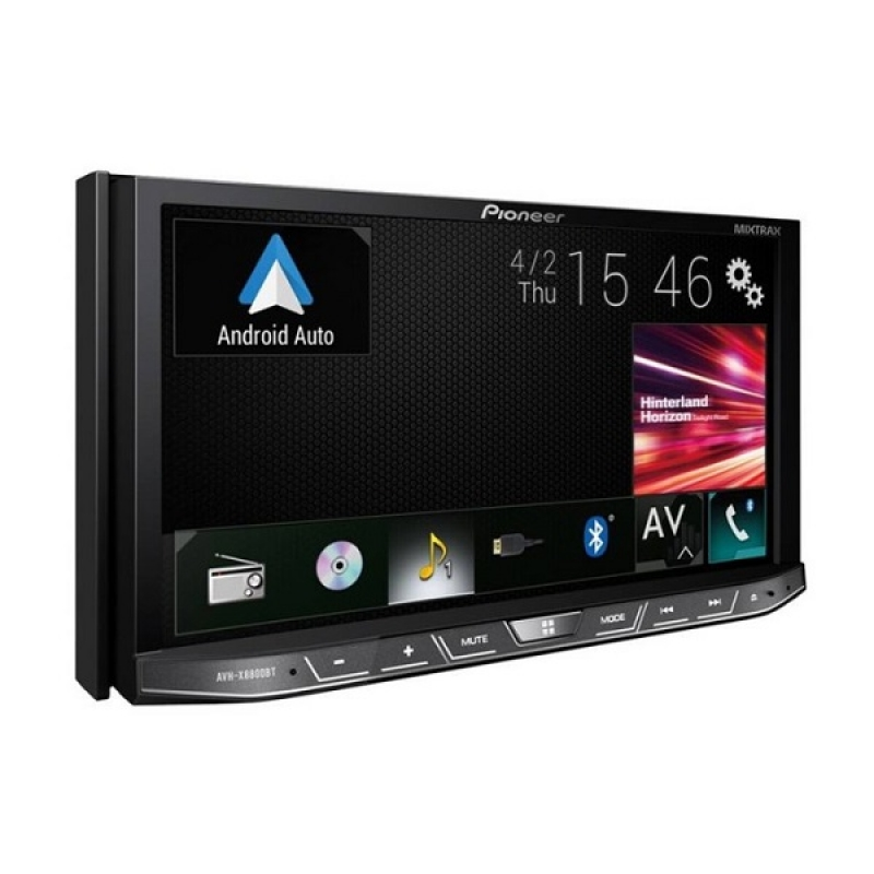 Автомагнитола PIONEER AVH-X8800BT, Мультимедиа, 2DIN, CD/DVD-проигрыватель, 4X50Вт, USB/SD, AUX-вход, Apple CarPlay, Android Auto, Full HD видео, Bluetooth