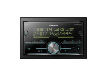 Автомагнитола PIONEER MVH-S610BT, Мультимедиа, 2DIN, 4X50Вт, USB, AUX-вход, Сенсорный экран, Bluetooth