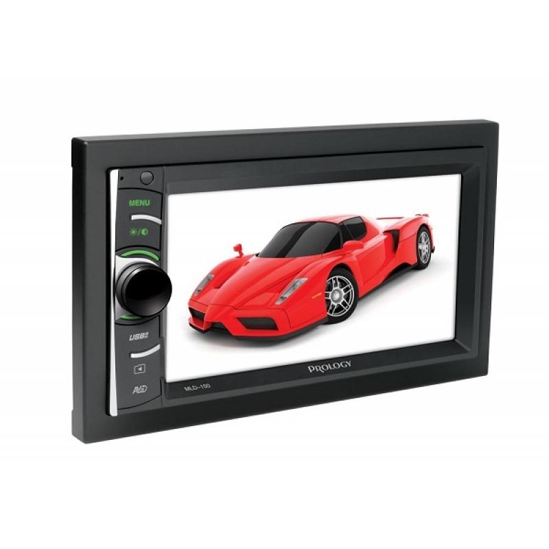 Автомагнитола PROLOGY MLD-150, Мультимедиа, 2DIN, 4X55Вт, USB/SD, Сенсорный экран, Bluetooth, Поддержка iPhone/iPod