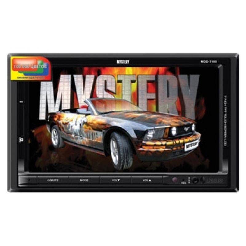 Автомагнитола MYSTERY MDD-6240S, Мультимедиа, 2DIN, CD/DVD-проигрыватель, 4X50Вт, USB/SD, ТВ-тюнер