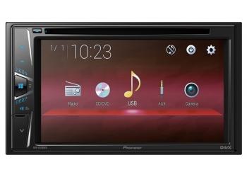 Автомагнитола PIONEER AVH-G110, Мультимедиа, 2DIN, CD/DVD-проигрыватель, 4X50Вт, USB, AUX-вход