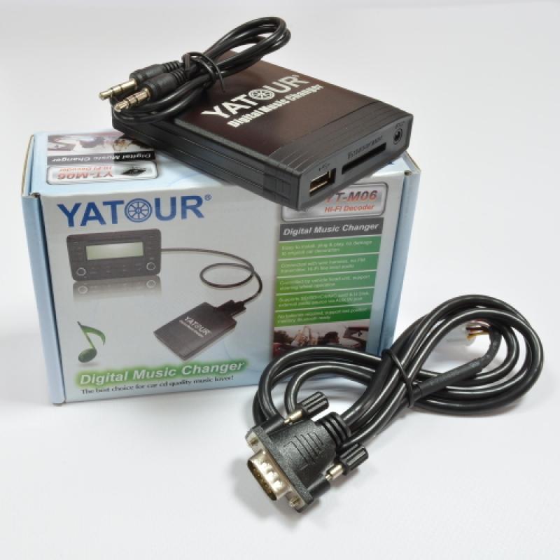 USB, MP3, CD Адаптер YATOUR YT-M06 SUZUKI (Ce-Net)
