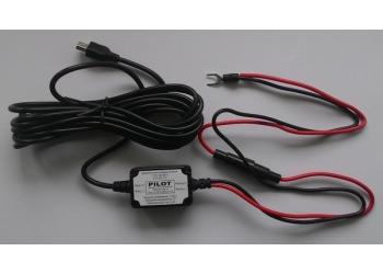 Зарядное устройство Smart Сharger черный прямой штекер Mini-USB (защита от разряда аккумулятора)
