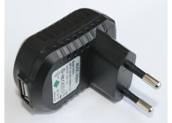 Зарядное устройство в розетку CP0510 - 1USB (100-220V/5V, 1mAh)