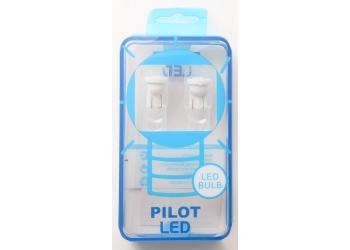 Светодиоды Pilot 02 5000K T10  1smd (W5W ) (цена за упаковку)