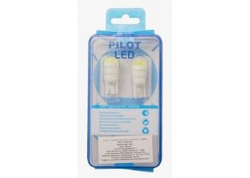 Светодиоды Pilot Pro 198 Lens 5000K T10 HP 1W (цена за упаковку)
