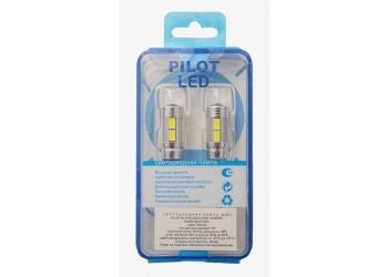 Светодиоды Pilot 2323 T10  10smd  Lens can bus 5000K (цена за упаковку)