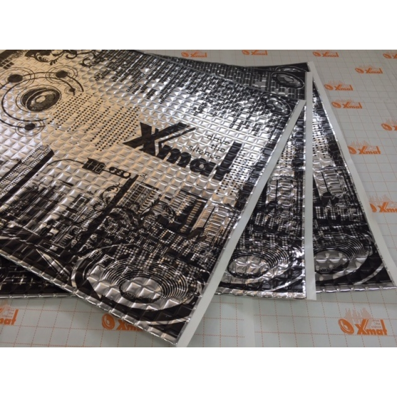 X.Mat М1 (0,5м*0,6м*1,6мм) - Вибро материал