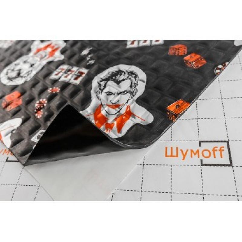 Шумофф Black Joker (0,37м*0,27м) - Вибро материал