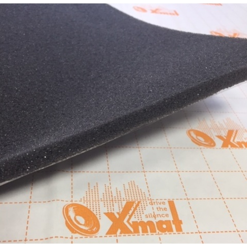 X.Mat Flex 10K (0,75м*1,0м*10мм) - Антискрип. Абсорбер, уплотнитель на основе ППУ