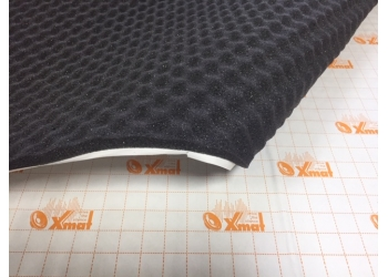 X.Mat Битолон  A15K (750*1000*15мм) (16) - шумо поглотитель и уплотнитель Битолон рельеф пирамидка