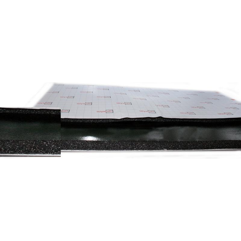 Шумофф Герметон 20 Л (0,75м*1,00м*20мм) - шумо поглотитель на основе спец ППУ