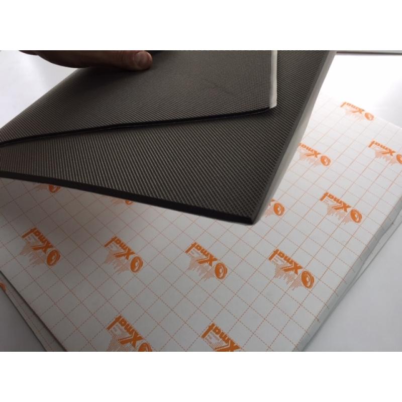 X.Mat П3008В (0,75*0,56*8мм) (25) - Звуко-теплоизоляционный материал с водостойким липким слоем на основе вспененного полиэтилена