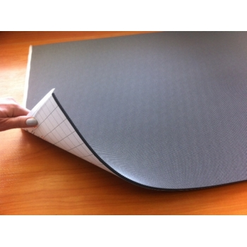 Шумофф П8В (0,75м*0,56м*8мм) - Звуко-теплоизоляционный материал с водостойким липким слоем на основе вспененного полиэтилена