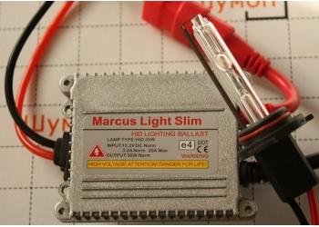 Комплект ксенона Marcus H1 6000K
