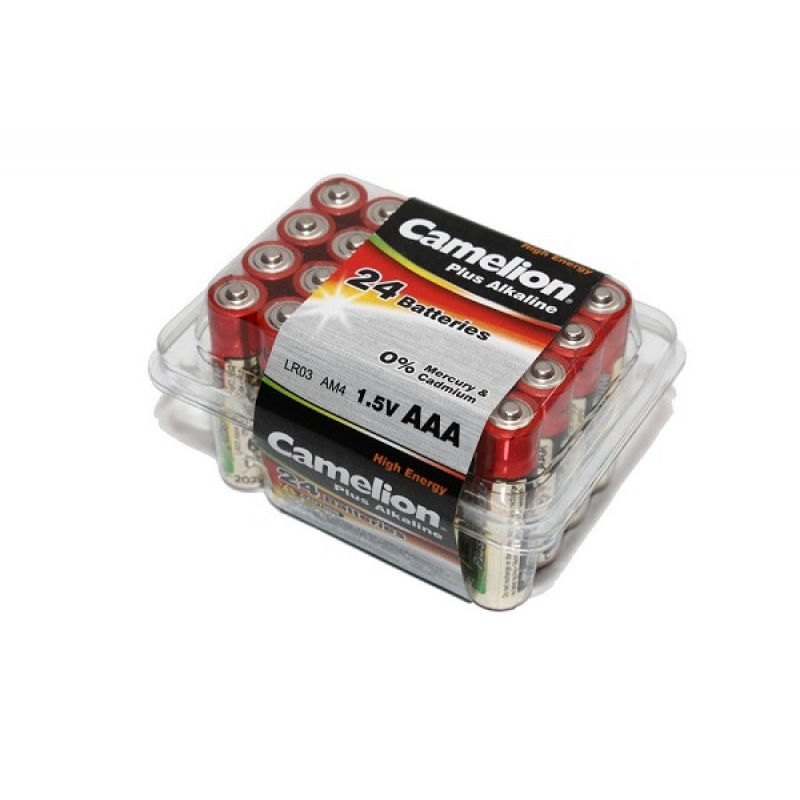 Батарейка AAA Camelion Plus Alkaline LR03/286