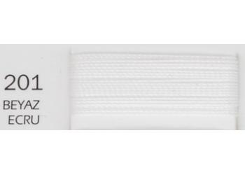 Нитки POLYART ( Полиарт ) 20 намотка 1500м цвет 201 (цена за бабину)