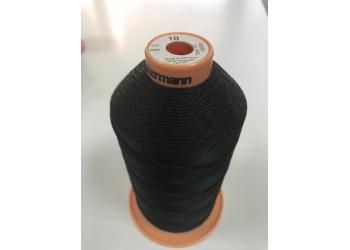 Нитки Gutermann Tera ( Гутерманн Тера ) 10 цвет 000 Черный, намотка 1000м, Сделано в Германии