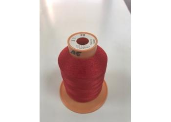 Нитки Gutermann Tera ( Гутерманн Тера ) 20 цвет 156 красный, намотка 600м, Сделано в Германии