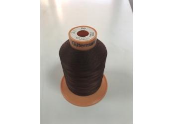 Нитки Gutermann Tera ( Гутерманн Тера ) 20 цвет 175 темно-коричневый, намотка 600м, Сделано в Германии