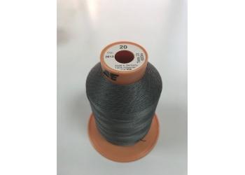 Нитки Gutermann Tera ( Гутерманн Тера ) 20 цвет 2613 серый, намотка 600м, Сделано в Германии