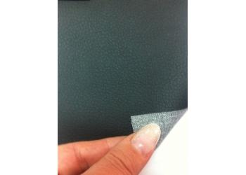 Экокожа Орегон на подложке, черная (ширина 1,4 м. толщина 0,85мм) (цена за 1 погонный метр)