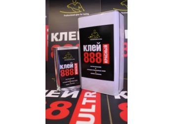 Клей 888 Ultra Red 1л, для потолочных материалов в железной банке