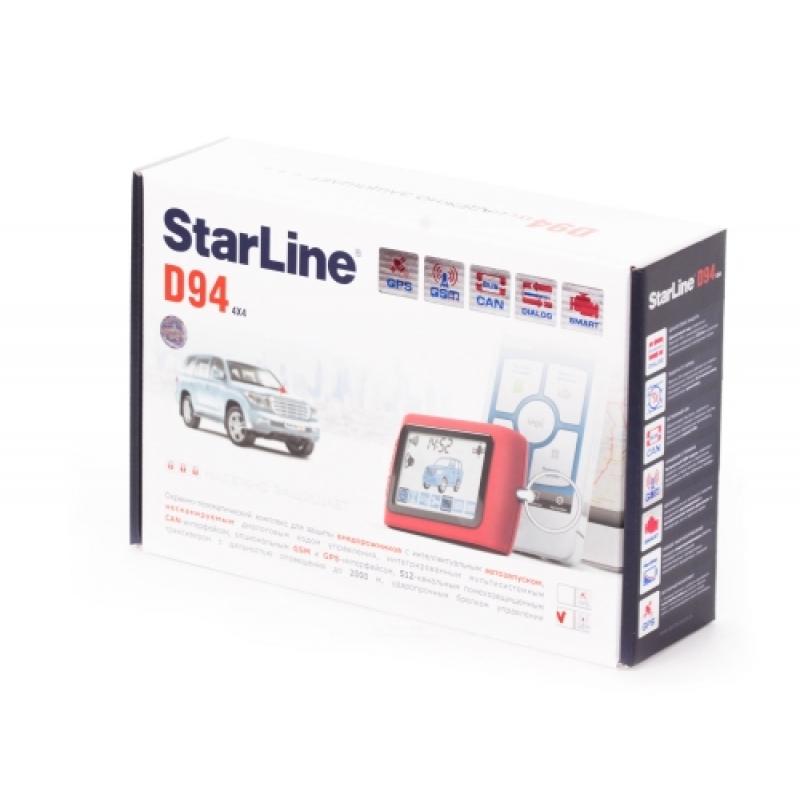StarLine D94 GSM, GPS
