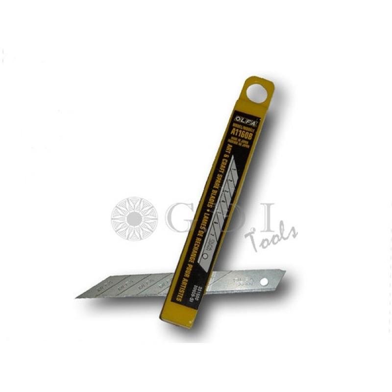GT1052  лезвия  OLFA для ножа GT1051  30 градусов 10 штук