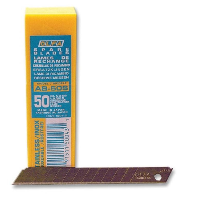 GT 116 Лезвия OLFA из нерж. стали, для ножа olfa