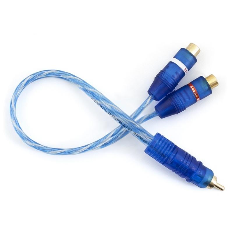 Y-Разветвитель Sound Quest CRCB2F - 2 мамы / 1 папа, медь