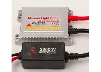 Комплект биксенона  Marcus  Н4 6000K(Н/L) тонкие блоки