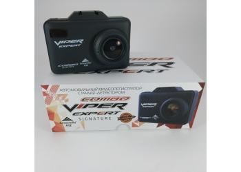Видеорегистратор с антирадаром и GPS COMBO VIPER Expert Signature