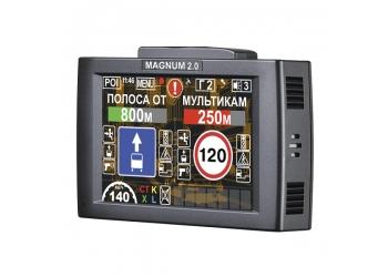 Видеорегистратор с антирадаром и GPS INTEGO MAGNUM 2.0, FullHD, GPS, G-сенсор